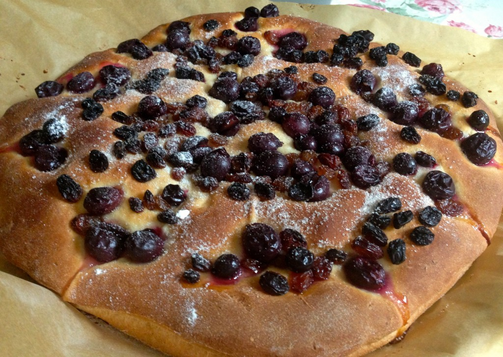 Florentinski hleb sa grožđem
