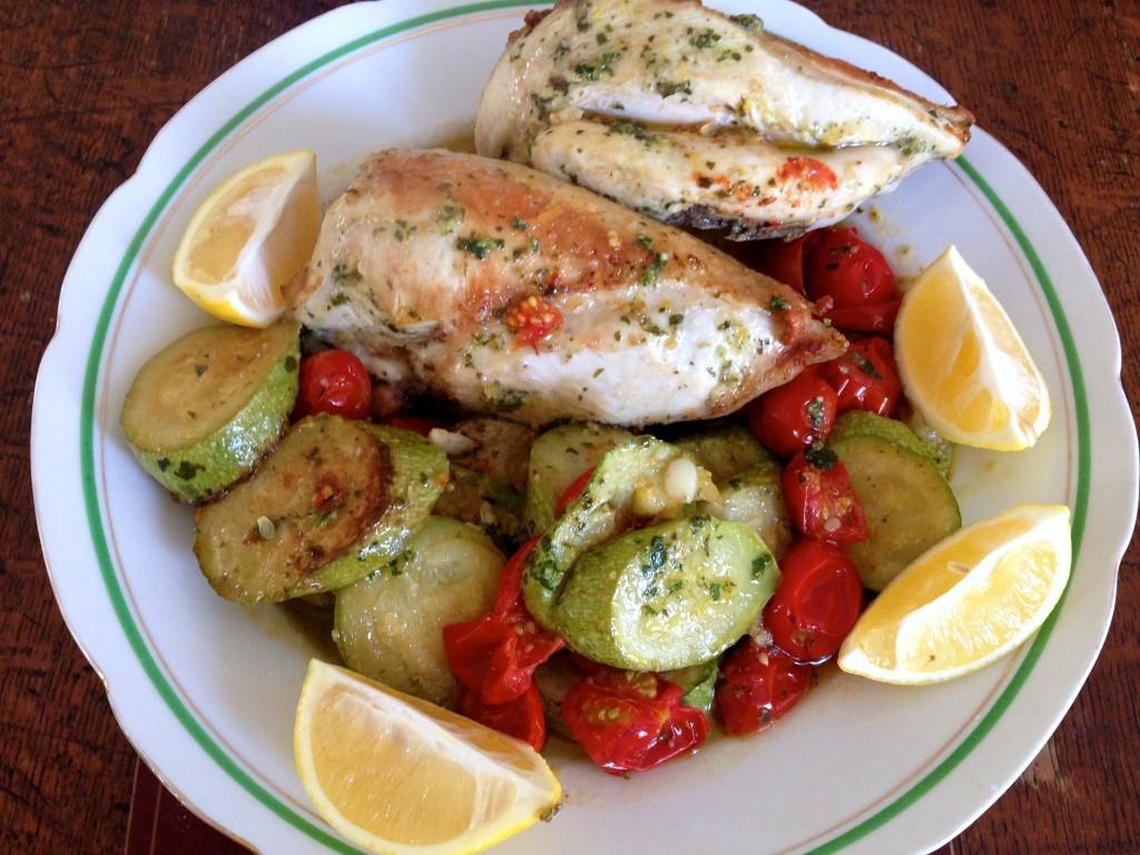 Piletina sa bosiljkom i limunom